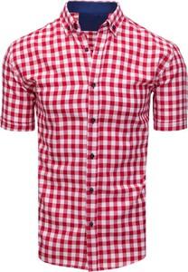 Koszula Dstreet w stylu casual z klasycznym kołnierzykiem