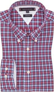 Koszula Tommy Hilfiger z długim rękawem w stylu casual z bawełny
