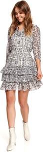Sukienka Top Secret z długim rękawem w stylu casual