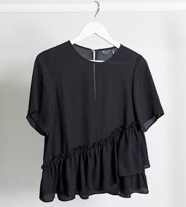 Czarny t-shirt Asos z długim rękawem
