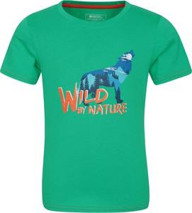 Koszulka dziecięca Mountain Warehouse z krótkim rękawem z tkaniny