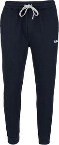Czarne spodnie sportowe Woolrich z dresówki w sportowym stylu
