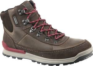 bcaa0ff0 Brązowe buty zimowe Ecco w sportowym stylu