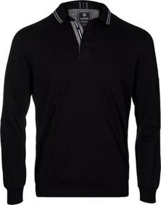 Czarna bluza WARESHOP z bawełny