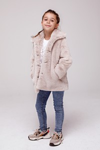 Kurtka dziecięca Smoke Furs z tkaniny