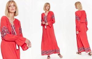 Czerwona sukienka Top Secret