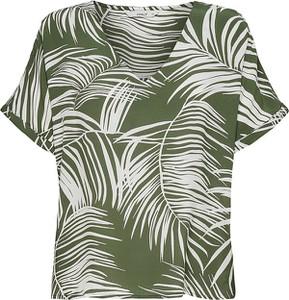 Zielona bluzka Only z krótkim rękawem
