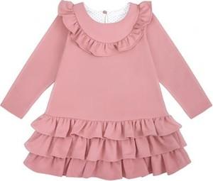 Sukienka dziewczęca Ewa Collection z bawełny