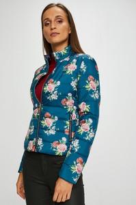 Niebieska kurtka Liu-Jo w stylu casual krótka