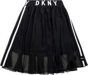 Czarna spódniczka dziewczęca DKNY