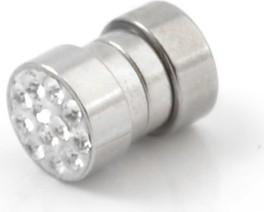 Trendhim Magnetyczny wkręt 6 mm z cyrkoniami