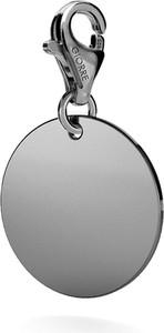 GIORRE SREBRNY CHARMS KOŁO GRAWER 925 : Kolor pokrycia srebra - Pokrycie Czarnym Rodem