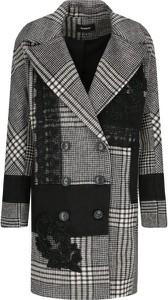 Płaszcz Desigual w stylu casual z wełny