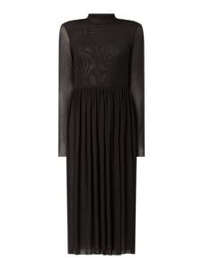 Sukienka NA-KD z długim rękawem midi