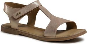 Złote buty dziecięce letnie Lasocki Young dla dziewczynek