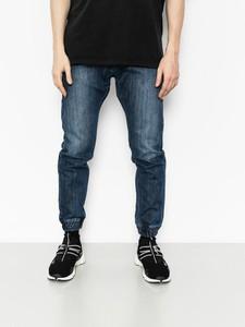 Niebieskie spodnie Massdnm z bawełny