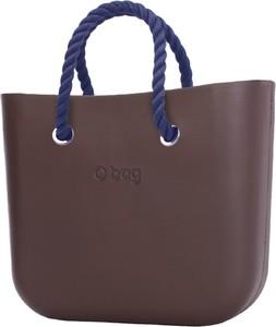 Brązowa torebka O Bag w wakacyjnym stylu duża
