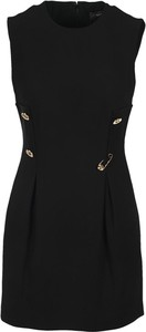Czarna sukienka Versace mini