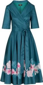 Sukienka Poza z kołnierzykiem z bawełny