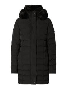Czarny płaszcz Wellensteyn w stylu casual