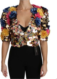 Kurtka Dolce & Gabbana z jedwabiu