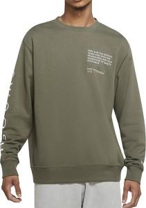 Zielona bluza Nike z bawełny