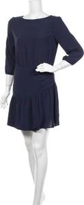 Niebieska sukienka Comptoir Des Cotonniers mini z okrągłym dekoltem