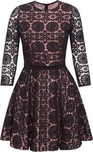 Sukienka Manifiq&Co. mini z długim rękawem