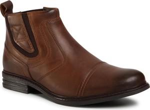 Brązowe buty zimowe Go Soft
