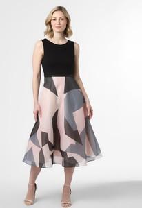 Sukienka Marie Lund z okrągłym dekoltem z tiulu maxi