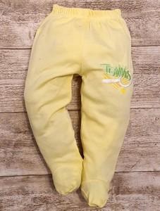 Żółte spodenki dziecięce Elegrina dla dziewczynek