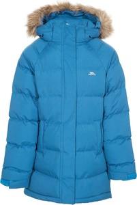Niebieski płaszcz dziecięcy Trespass dla chłopców