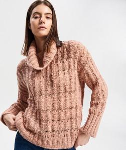 Różowy sweter Reserved