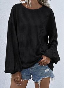Czarny sweter Cikelly