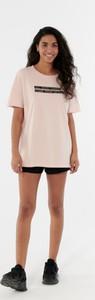 T-shirt Outhorn z bawełny z krótkim rękawem