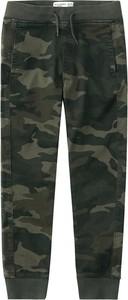 Zielone spodnie dziecięce Abercrombie & Fitch