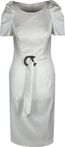 Sukienka Fokus ołówkowa w stylu klasycznym midi