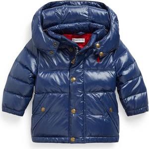 Granatowa kurtka dziecięca Ralph Lauren