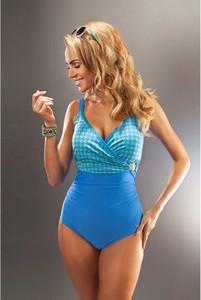 Niebieski strój kąpielowy Aquarilla