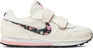 Różowe buty sportowe dziecięce Nike na rzepy