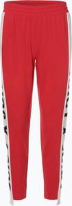 Czerwone spodnie sportowe Juicy By Juicy Couture w młodzieżowym stylu z dresówki
