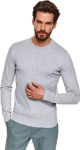 Sweter Top Secret z okrągłym dekoltem