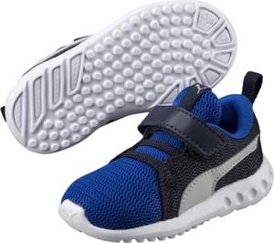 Niebieskie buty sportowe dziecięce Puma