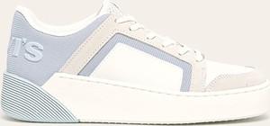 Buty sportowe Levis sznurowane ze skóry ekologicznej