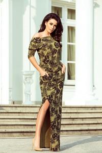 Sukienka Moda Dla Ciebie sportowa w militarnym stylu
