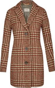 Brązowy płaszcz Camel Active w stylu casual z wełny