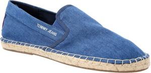 Buty letnie męskie Tommy Jeans z tkaniny