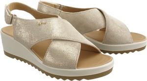 07efe9e4 Sandały Igi & Co w stylu casual ze skóry na średnim obcasie