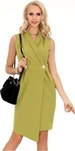 40a56e0c95 Sukienka MERRIBEL w stylu casual asymetryczna z dekoltem w kształcie litery  v