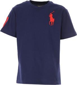 Koszulka dziecięca Ralph Lauren z bawełny